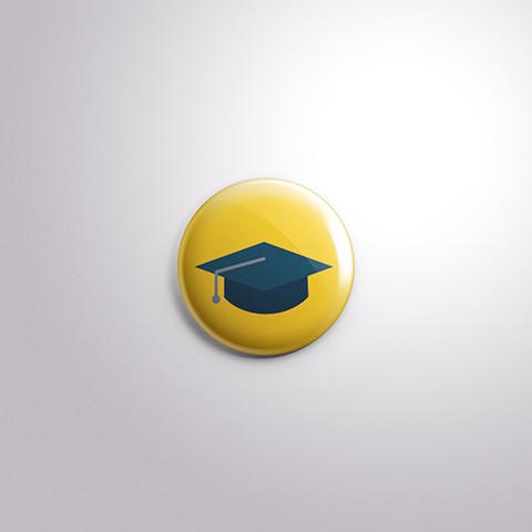 pin graduado academia scorpion